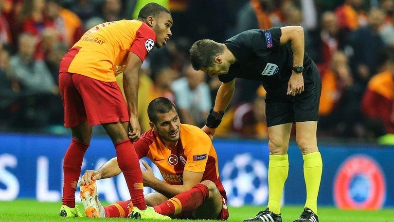Galatasaray'da Eren Derdiyok'un tedavisine başlandı