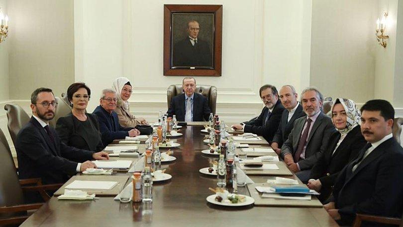 Kültür ve Sanat Politikaları Kurulu Erdoğan başkanlığında toplandı