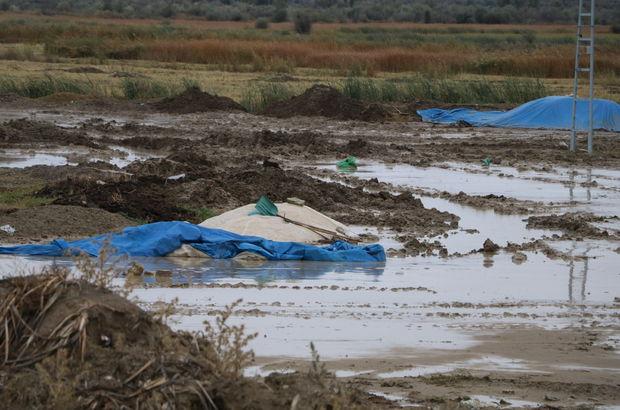 4 bin ton pirinci sel vurdu