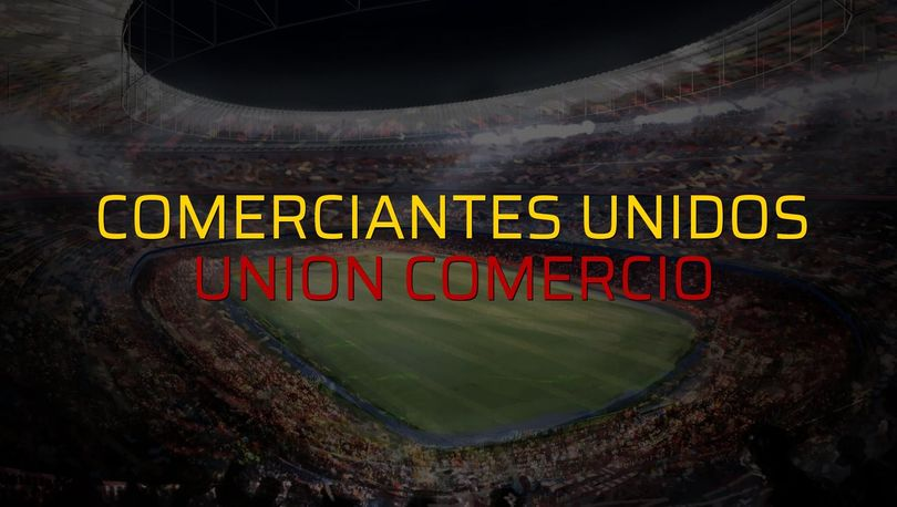 Comerciantes Unidos - Union Comercio karşılaşma önü