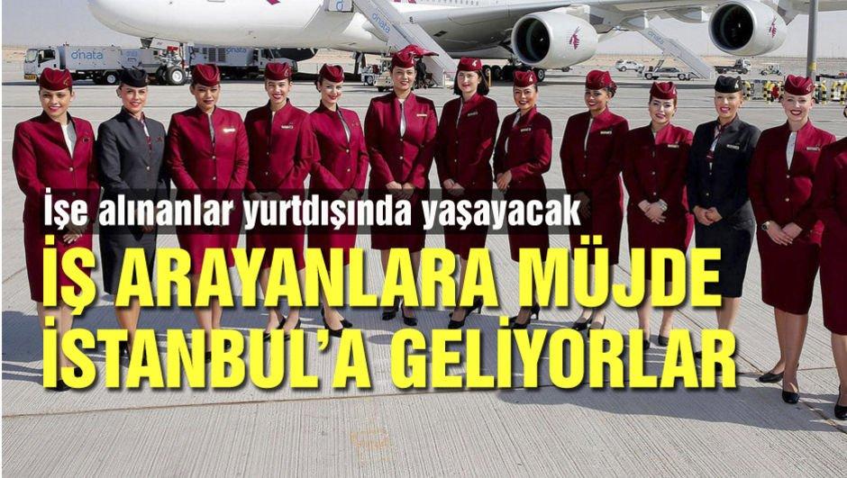İş arayanlara müjde! İstanbul'a geliyorlar