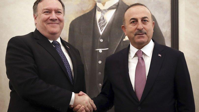 Son dakika... Çavuşoğlu, ABD'li mevkidaşıyla görüştü!