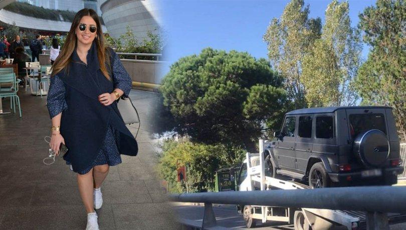 Fatih Terim'in kızı Buse Terim kaza geçirdi