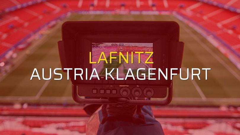 Lafnitz - Austria Klagenfurt maç önü
