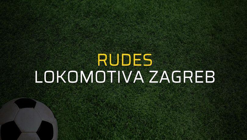 Maç sona erdi: Rudes: 0 - Lokomotiva Zagreb:4