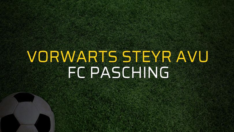 Maç sona erdi: Vorwarts Steyr AVU: 2 - FC Pasching:1