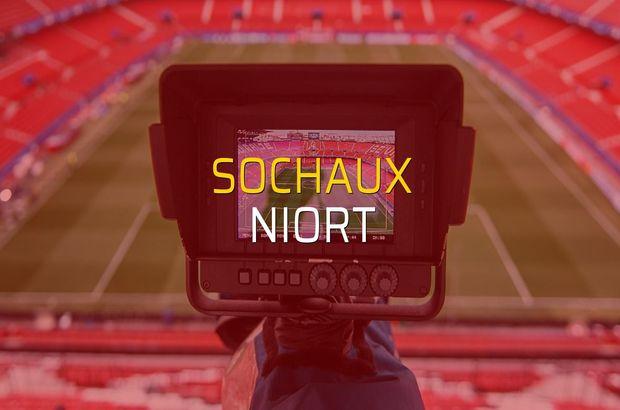 Sochaux: 0 - Niort: 3 (Maç sona erdi)