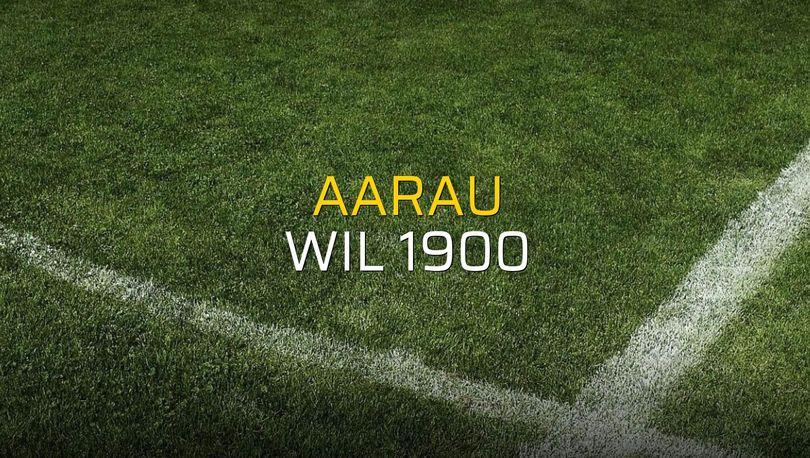 Maç sona erdi: Aarau: 1 - Wil 1900:0