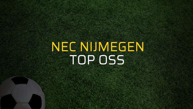 Nec Nijmegen: 1 - Top Oss: 5