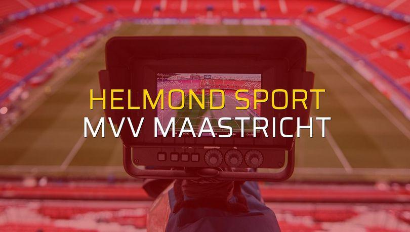 Maç sona erdi: Helmond Sport: 1 - MVV Maastricht:1