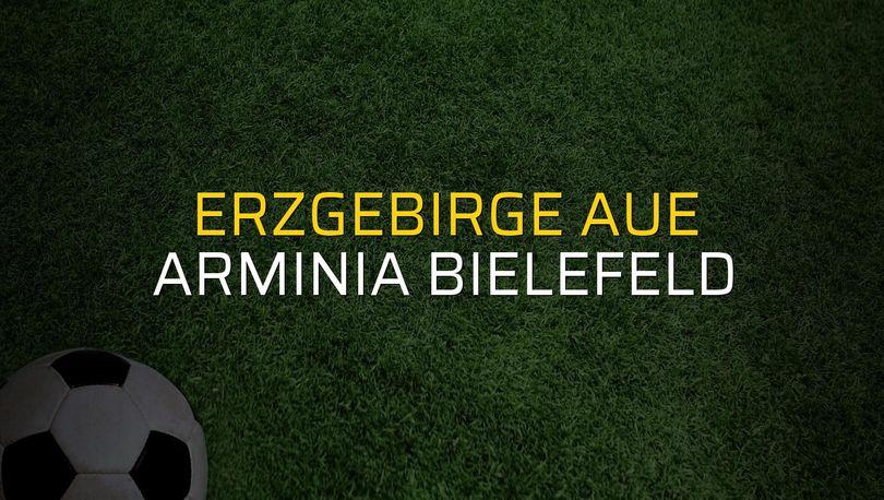 Erzgebirge Aue - Arminia Bielefeld rakamlar