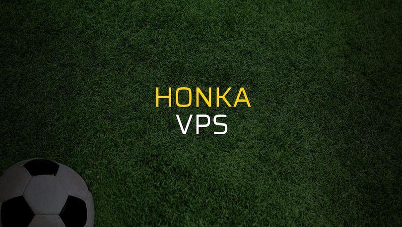 Honka - VPS maç önü