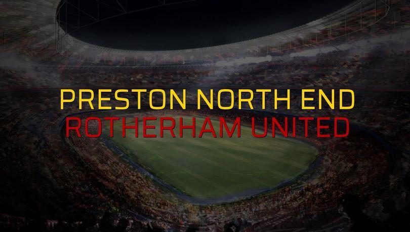 Preston North End - Rotherham United sahaya çıkıyor