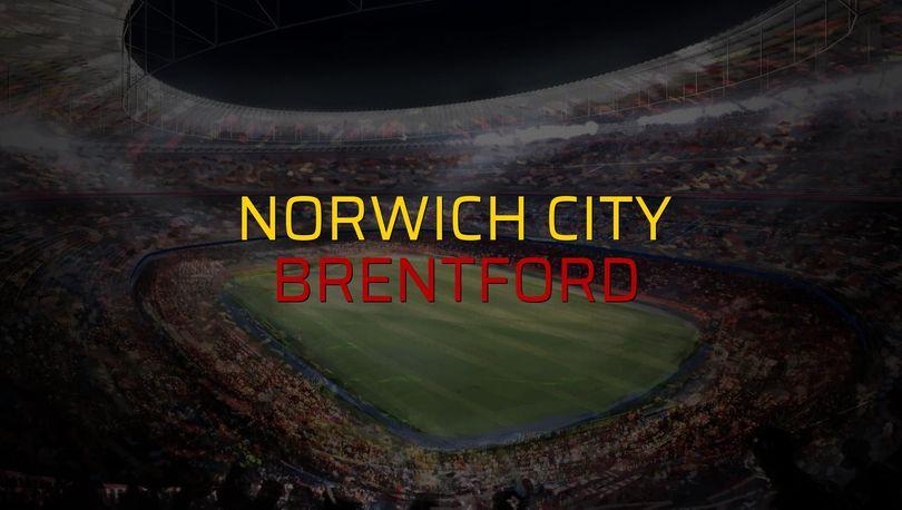 Norwich City - Brentford sahaya çıkıyor