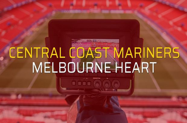 Central Coast Mariners: 1 - Melbourne Heart: 1