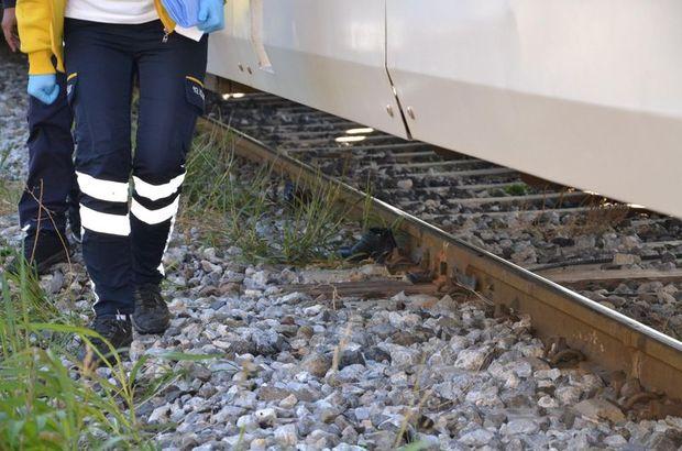 Tren yayaya çarptı