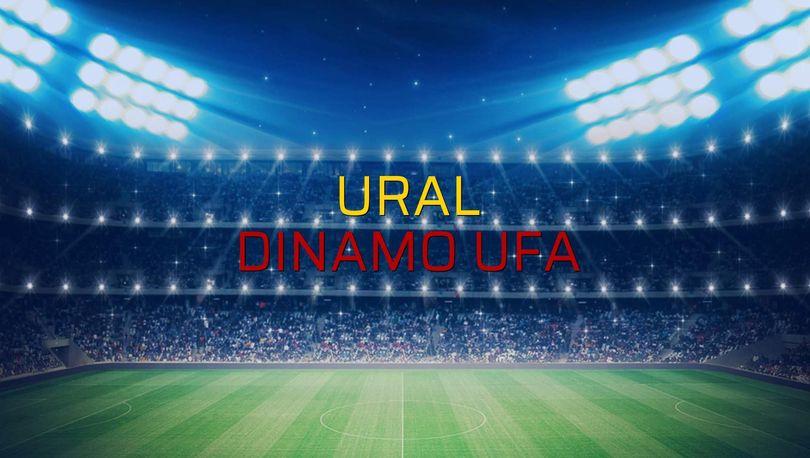 Maç sona erdi: Ural: 1 - Dinamo Ufa:1