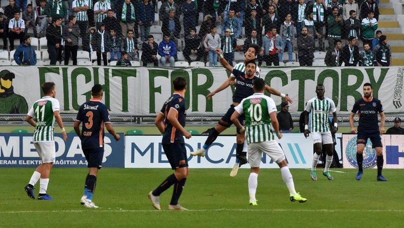 Konyaspor: 0 - Başakşehir: 1 | MAÇ SONUCU