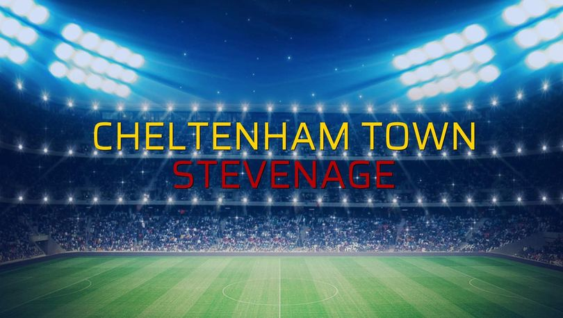 Cheltenham Town: 0 - Stevenage: 2 (Maç sonucu)