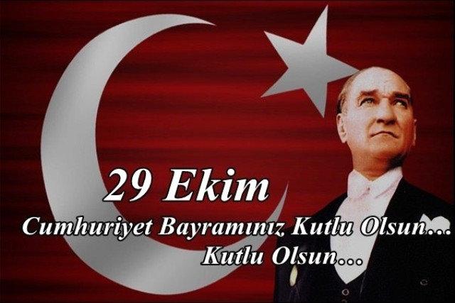 29 Ekim mesajları 2018! En güzel Cumhuriyet Bayramı mesajları gönderin... 29 Ekim Kutlu olsun!