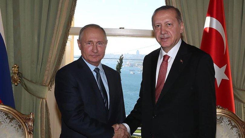 Erdoğan ve Putin dörtlü zirve sonrası baş başa görüştü