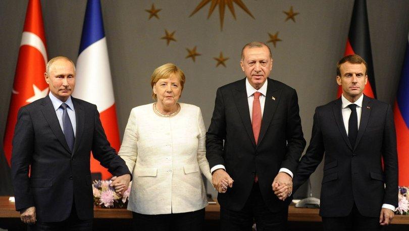 Suriye konulu dörtlü zirvenin ardından ortak bildiri yayımlandı