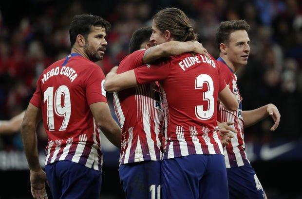 Atletico, El Clasico öncesi zirveye tırmandı!