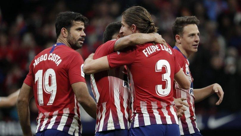 Atletico Madrid, Real Sociedad'ı yenerek El Clasico öncesi zirveye oturdu!