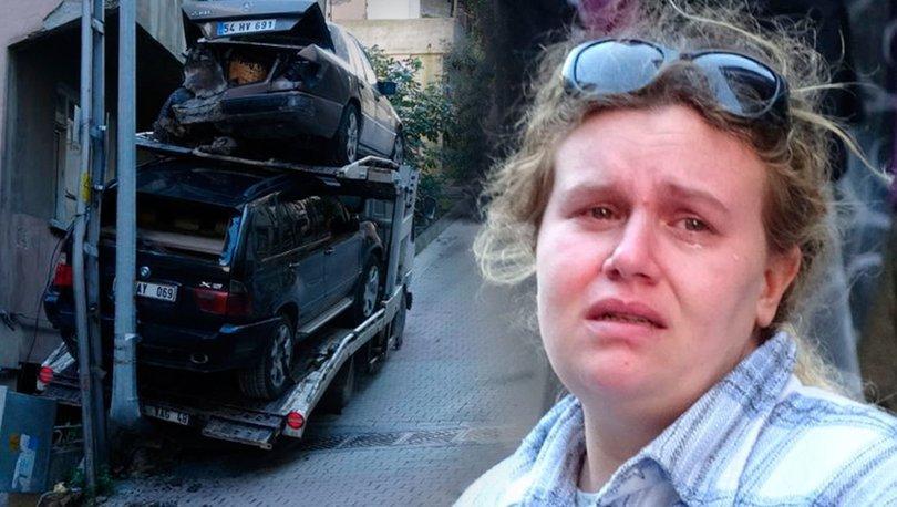 Kağıthane'de kaza yapan çekicinin sürücüsü gözyaşlarına boğuldu
