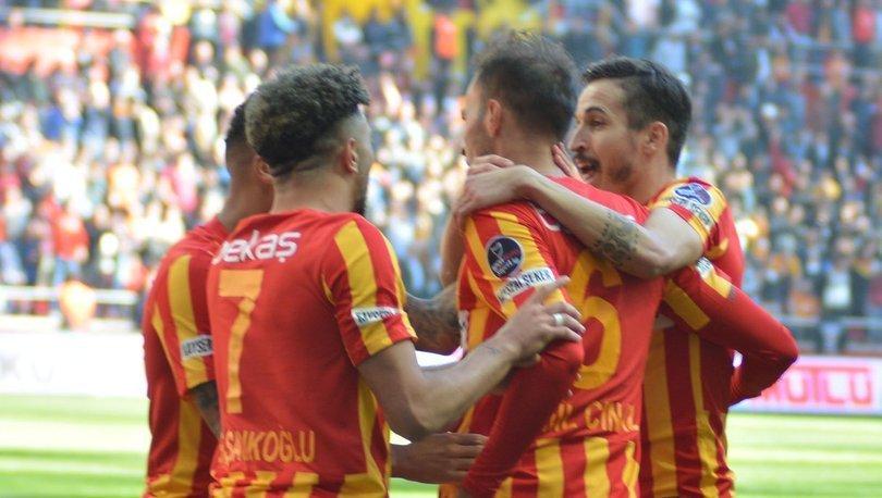 Kayserispor: 2 - Demir Grup Sivasspor: 0 | MAÇ SONUCU