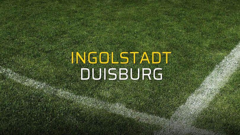 Ingolstadt: 1 - Duisburg: 1