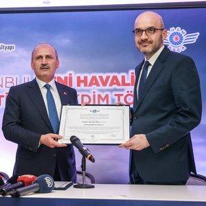 YENİ HAVALİMANI'NIN İŞLETME SERTİFİKASI İGA'DA!