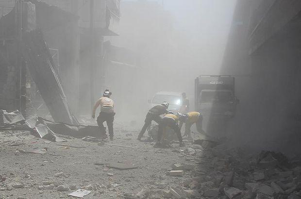Esad rejimi İdlib'e saldırmaya devam ediyor!