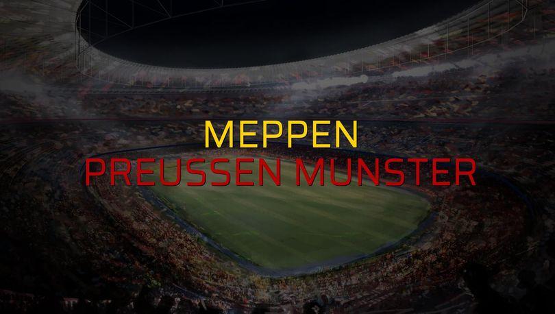 Meppen: 1 - Preussen Munster: 2 (Maç sona erdi)