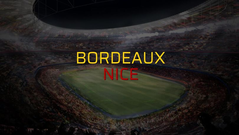 Bordeaux: 0 - Nice: 1
