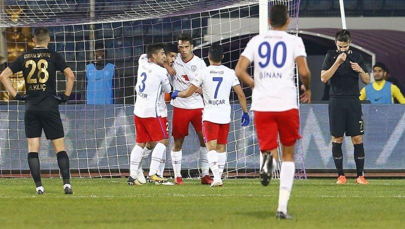 Osmanlıspor: 0 - Altınordu: 1