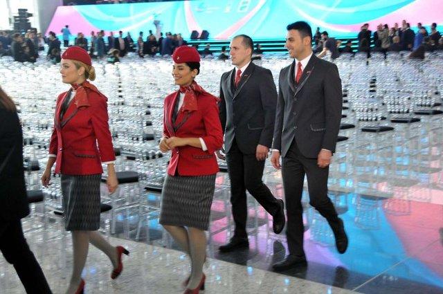 THY'den İstanbul Yeni Havalimanı'na yeni üniforma!