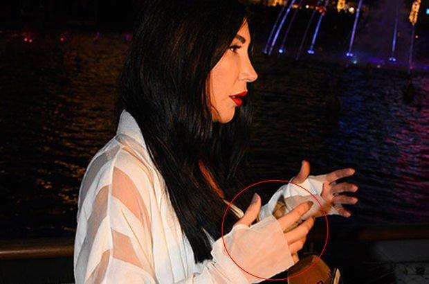 Hande Yener nişan yüzüğünü çıkarttı