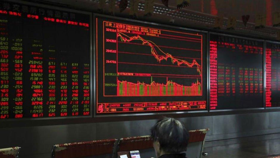 Çin borsasında sert düşüş
