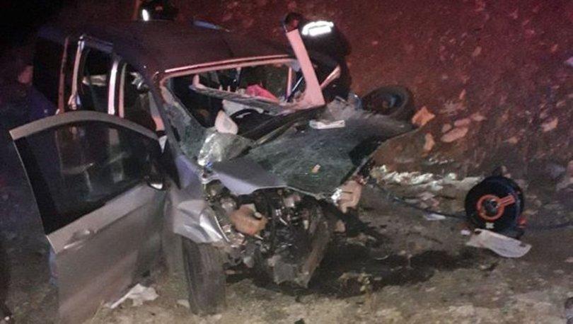Kahramanmaraş'ta trafik kazası: 3 ölü, 3 yaralı!