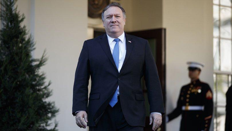 ABD Dışişleri Bakanı Pompeo ile ilgili flaş iddia!