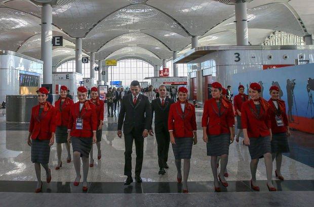 Yeni Havalimanı'na yeni üniforma!