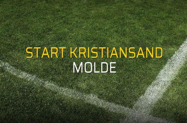 Start Kristiansand: 1 - Molde: 3