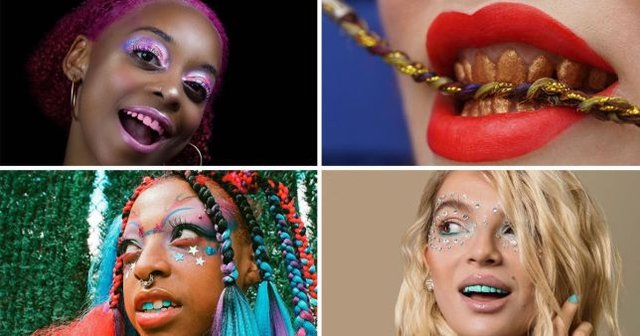 Instagram'ın tuhaf güzellik trendi: Gökkuşağı diş modası