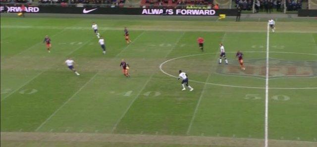 Tottenham - Manchester City maçında sahanın durumu şaşırttı