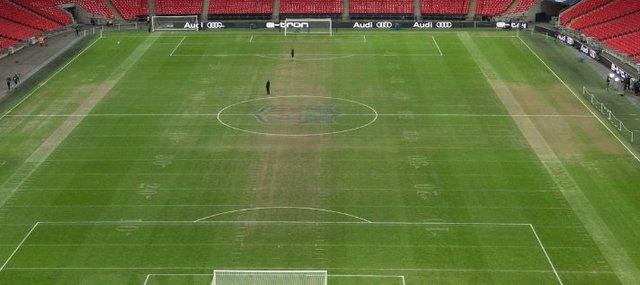 Bu sahada Premier Lig maçı oynandı