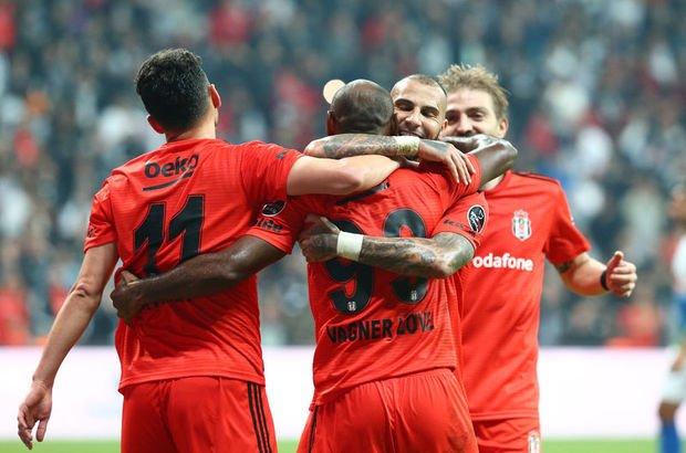 Beşiktaş'ın golcüleri kendini buldu