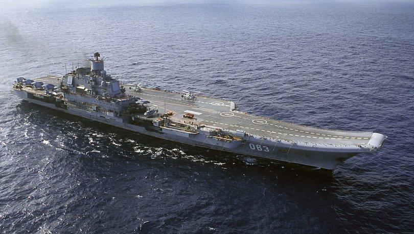 Son dakika... Rusya uçak gemisinde kaza: 1 kişi kayıp!