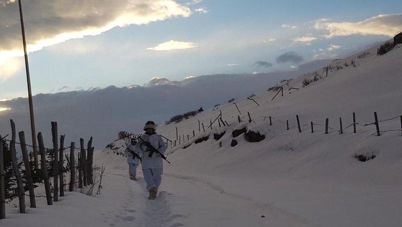 Karadeniz'de PKK'nın kış üslenmesine darbe!