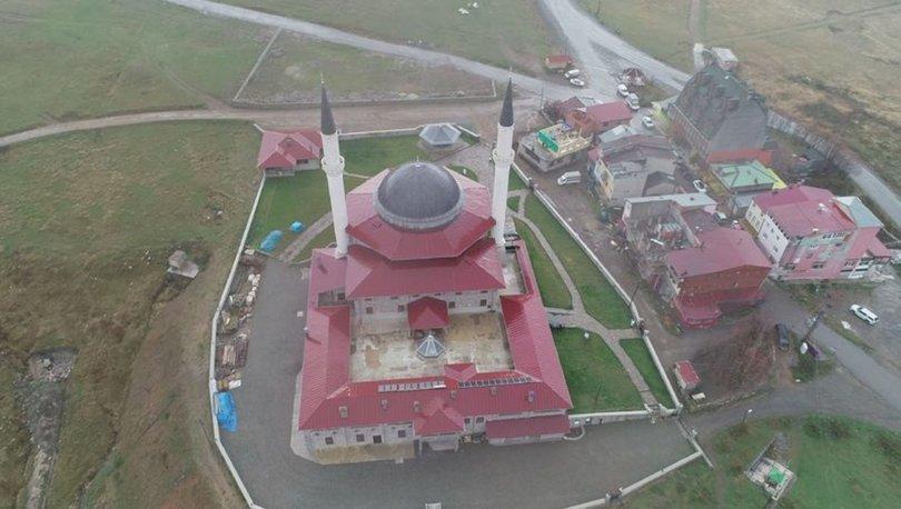 Padişah 4. Murad'ın namaz kıldığı yere 12 milyon TL'lik cami inşa edildi